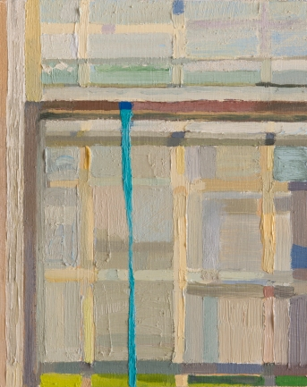 "RECTORY, 111 E 9TH ST, MARION, INDIANA - SCHOR, MIRA. "" COURSE PROPOSAL."" Painting (Documents of Contemporary Art). LONDON, WHITECHAPEL ART GALLERY, 2011 - oil on board. 10"" x 8"", 2015 - Suzie Dittenber"