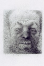 "Craig Hood, Graphite on paper, 2.5""x2"""