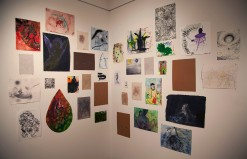 ARRANGMENT OF UNFRAMED DRAWINGS - Peter Acheson, Craig Olson, Ben La Rocco, Sarah Cook