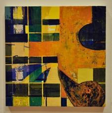 UNTITLED - oil on panel. Jennifer Moses