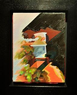 NUBBOY - oil on canvas on panel. Dan Sutherland